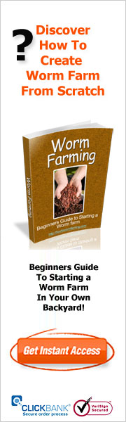 How to worm farming